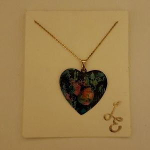 Louise Elmes Heart Necklace